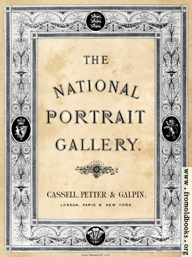 [Picture: Title page from National Portrait Gallery]