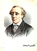 [picture: Portrait of Professer Henry Fawcett, M.P.]