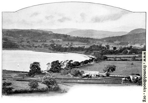 [Picture: Bala Town and Lake]