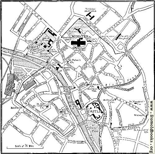 [Picture: Plan of York]