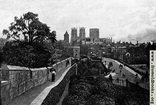 [Picture: York Minster from the Walls]