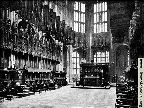 [Picture: Chapel of Henry VII., Westminster Abbey]