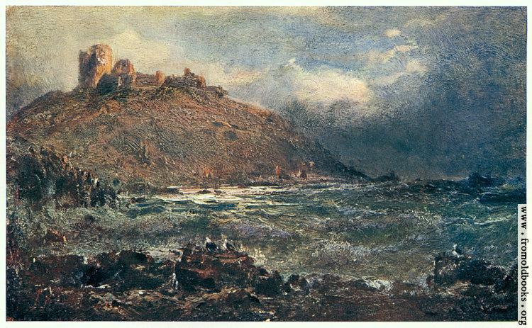[Picture: Criccieth Castle]
