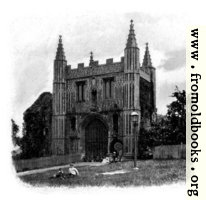 [Picture: Gate of St John's Abbey, Colchester]