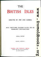 [picture: Title Page, The British Isles (Vol 1)]