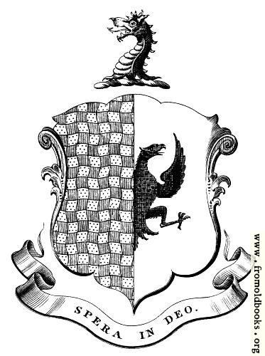 [Picture: Bookplate detail: family crest]
