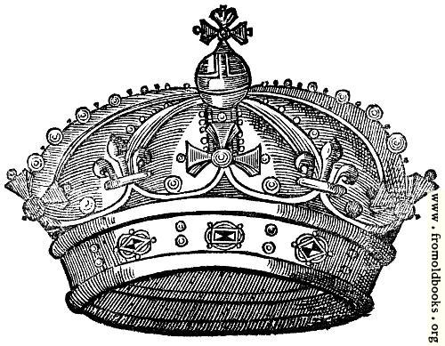 [Picture: Crown from title page at p. 637]