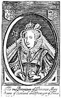 Portrait of Mary Stuart, Queen of Scotland