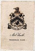Bookplate in Volume 1