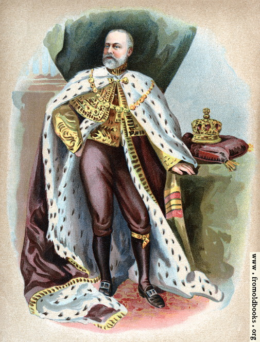 [Picture: Frontispiece: Edward VII Taking the Oath]