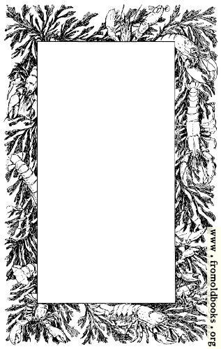 [Picture: Decorative page border of lobsters and crayfish]