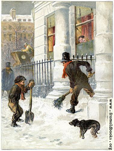 [Picture: Frontispiece: The Snow Sweepers (1865)]