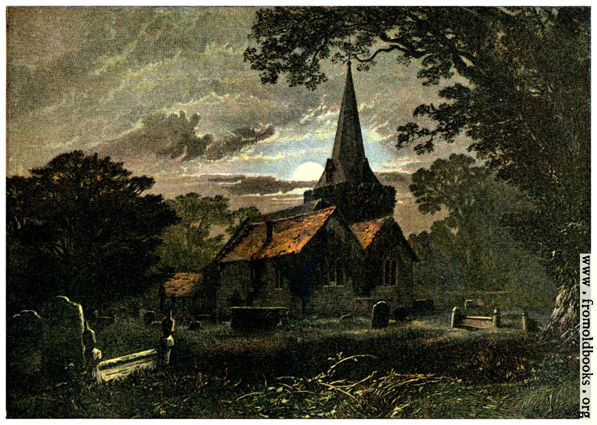 [Picture: Stoke Pogis Churchyard]