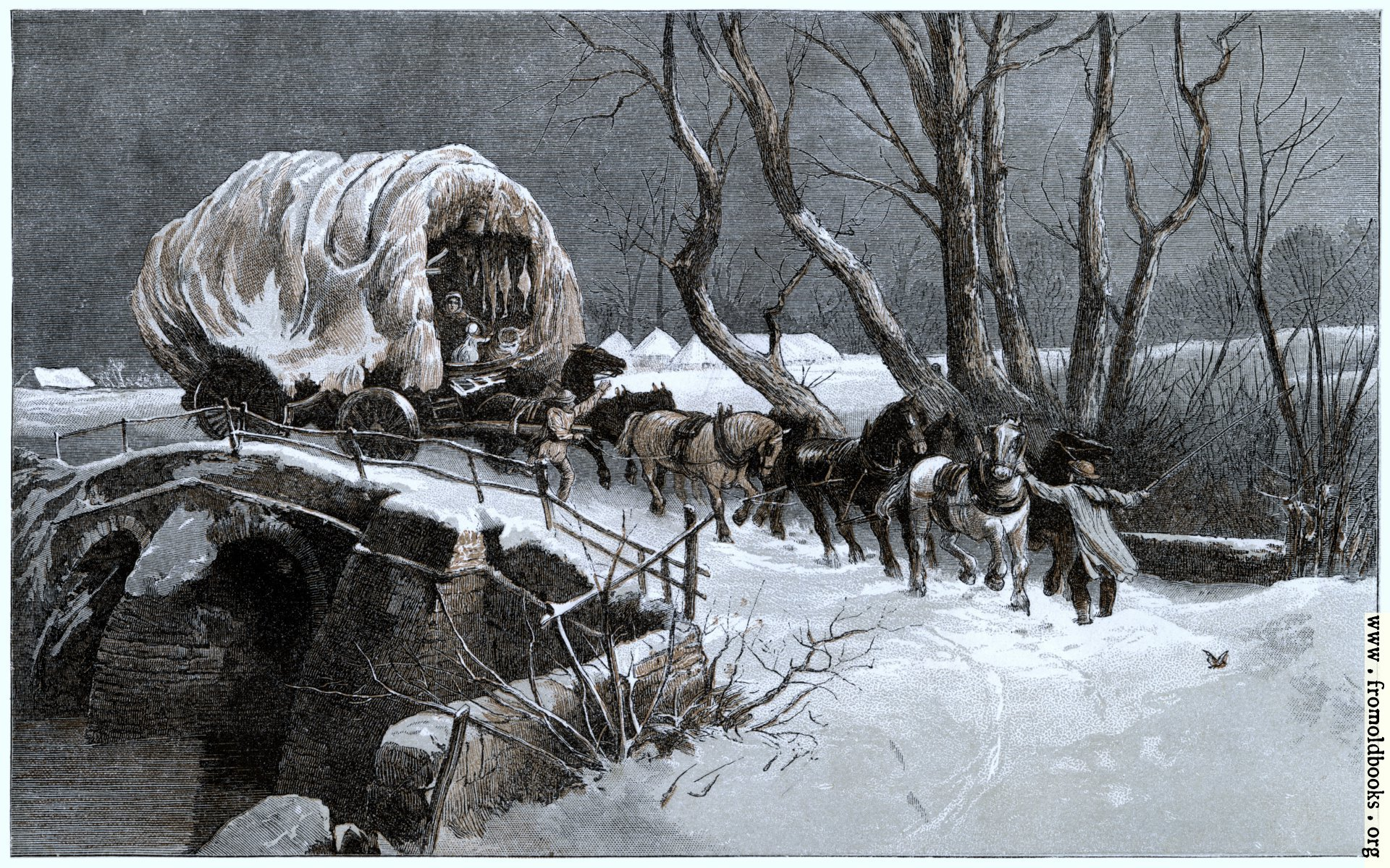[Picture: The Christmas Wagon]