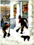 Frontispiece: The Snow Sweepers (1865)