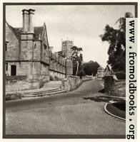 [Picture: Plate 3. Chipping Campden Church and Almshouses]