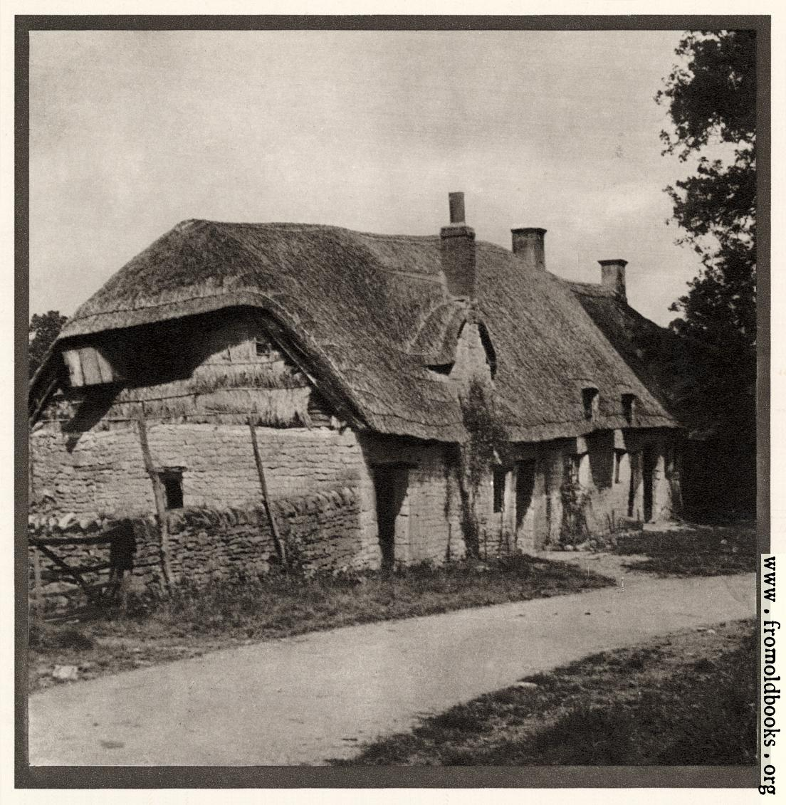 [Picture: Chipping Campden, Old Cottages]
