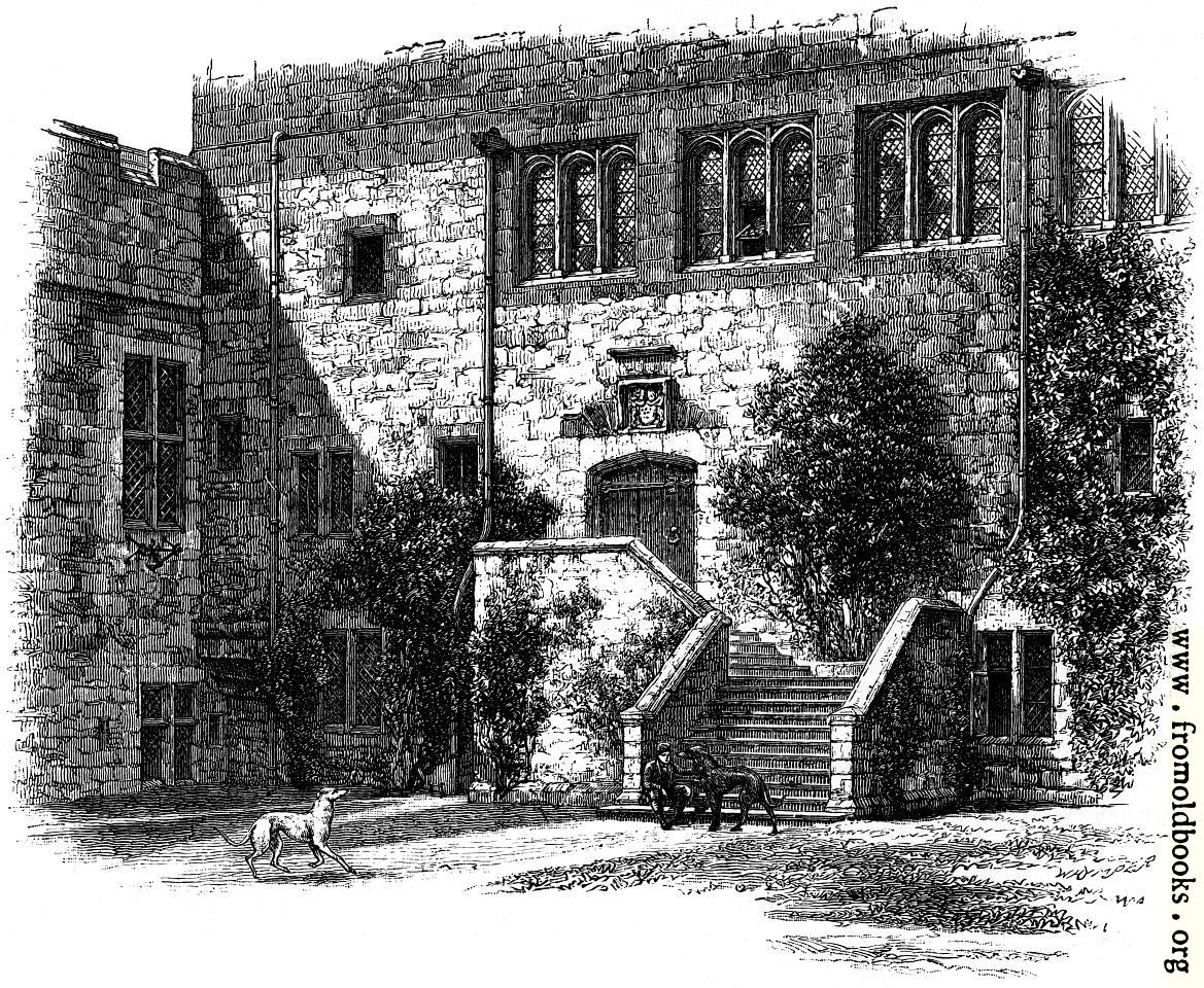 [Picture: Courtyard, Naworth Castle]