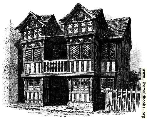 [Picture: Prestbury Old Hall]