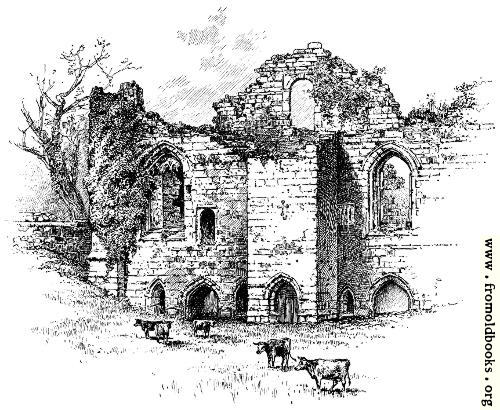 [Picture: Tutbury Castle]