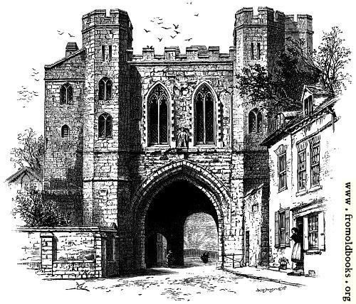 [Picture: Edgar's Gateway, Worcester]