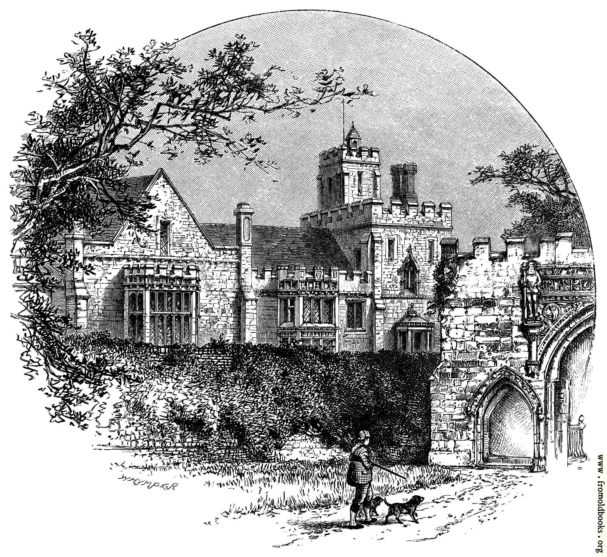 [Picture: Hinchinbrook House, Huntingdon]