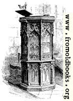[picture: Wycliffe's Pulpit at Lutterworth]