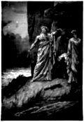 [Picture: Druids Offering Human Sacrifice]