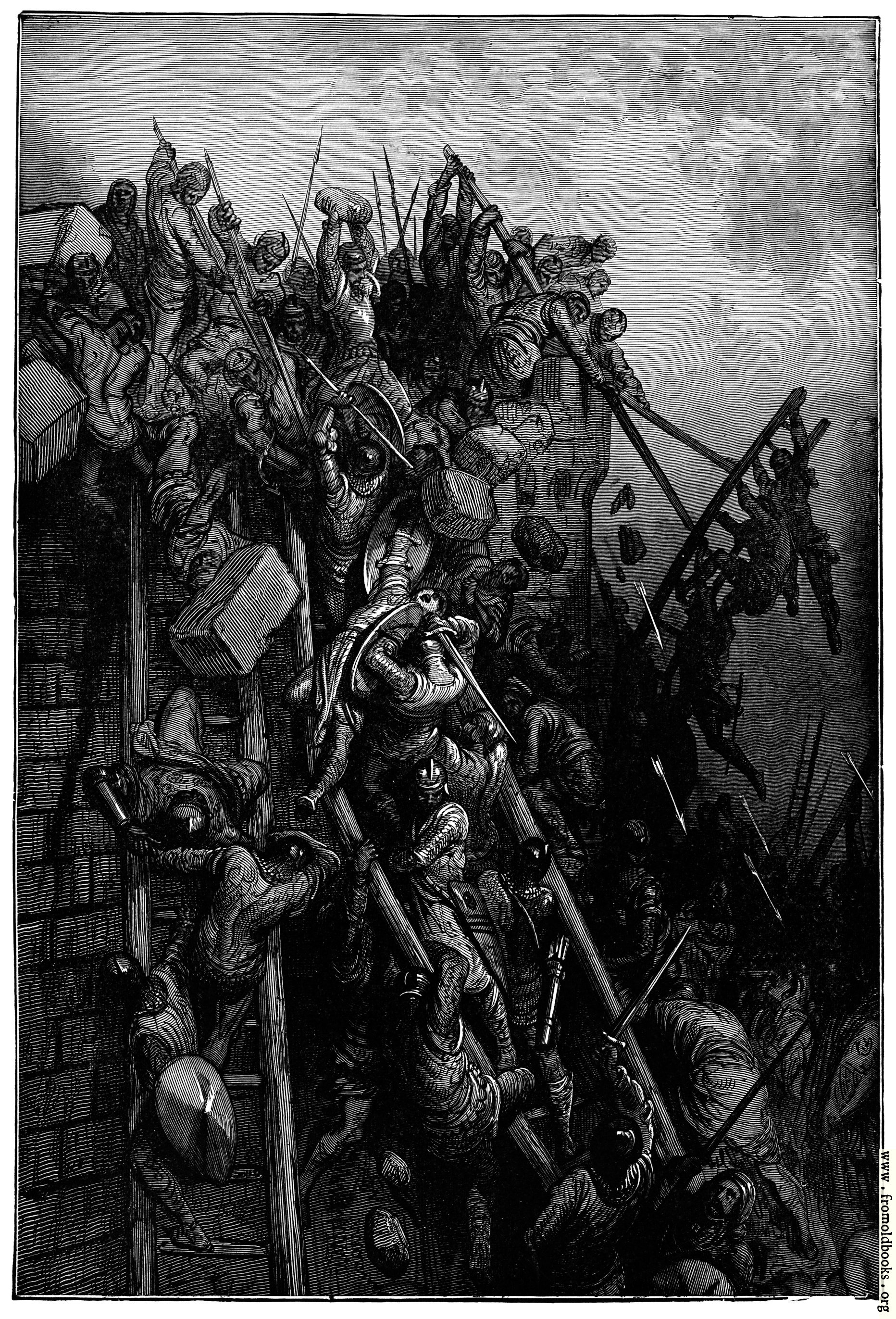 [Picture: Storming of Antioch.]