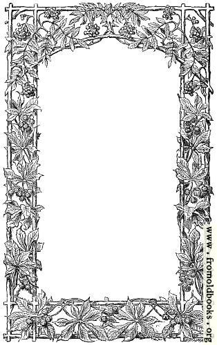 [Picture: Victorian vine-leaf page border]