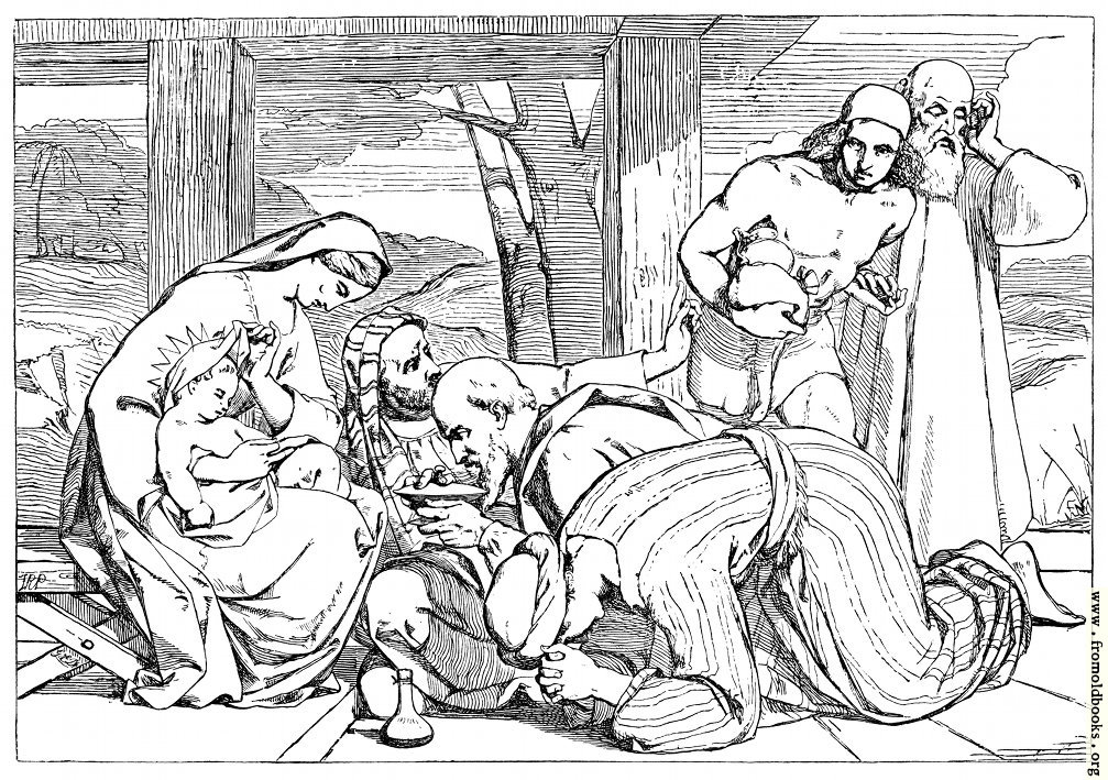 [Picture: The Adoration of the Maji.  By F. R. Pickersgill, R.A.]