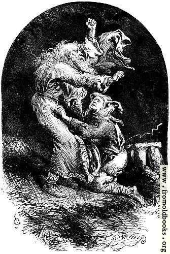 [Picture: King Lear and Fool in a Storm.]