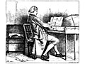 [Picture: Music.—A Man at the Spinet.]