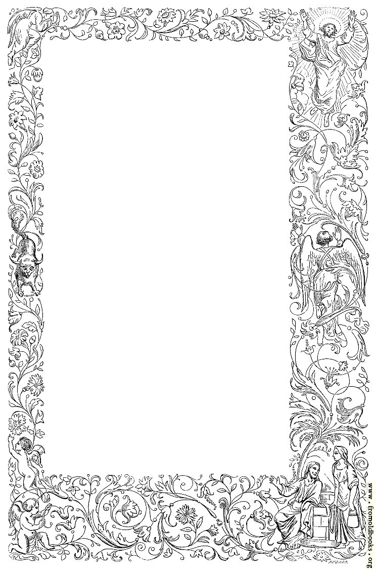 [Picture: Beautiful and Unusual Full-Page Victorian Border]