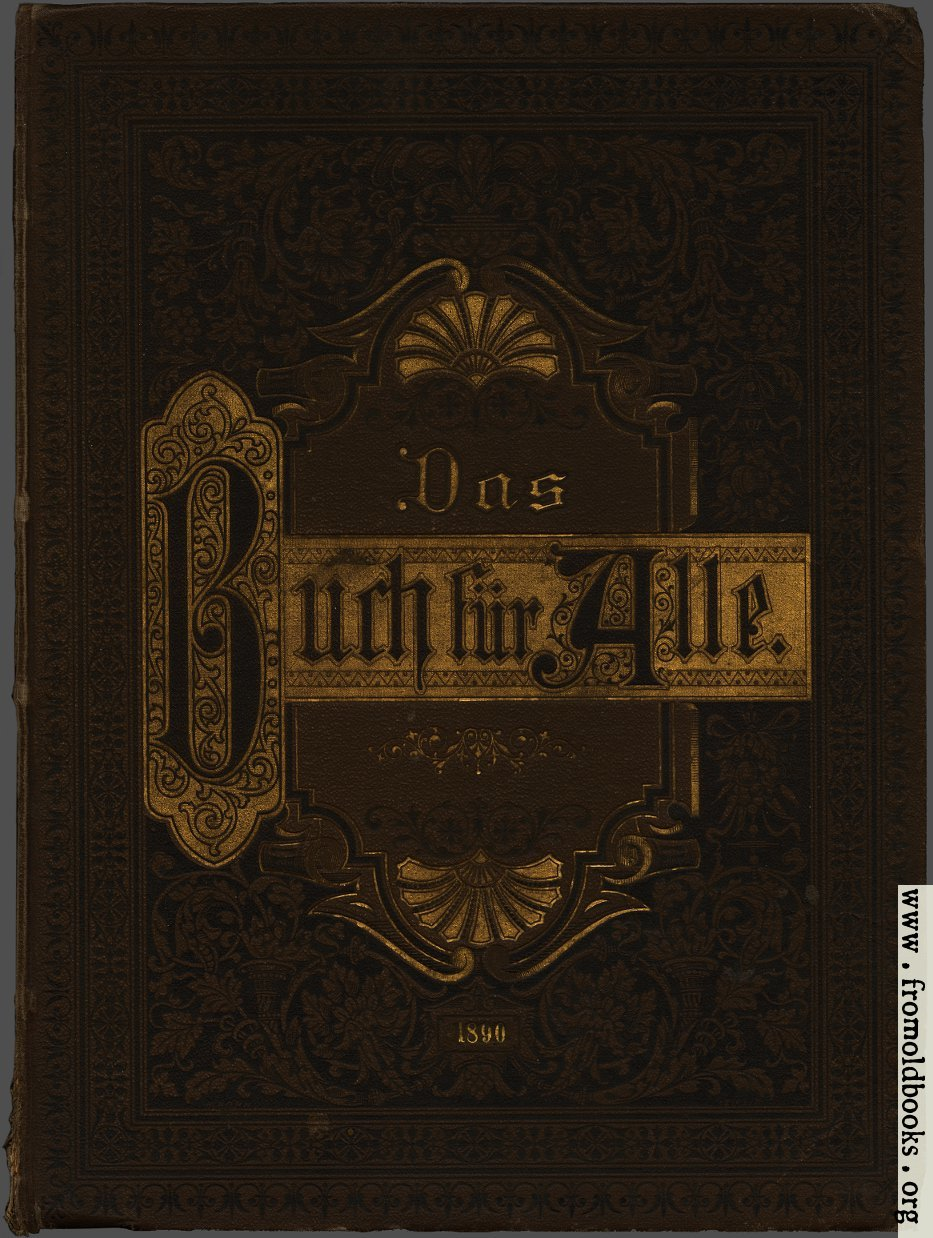 [Picture: Front Cover from the Book for All]