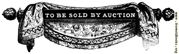 [Picture: 136.—To Be Sold By Auction.]