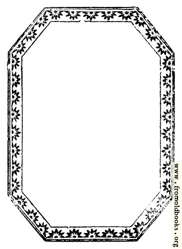 [Picture: 888.—Octagonal Border with starbursts.]
