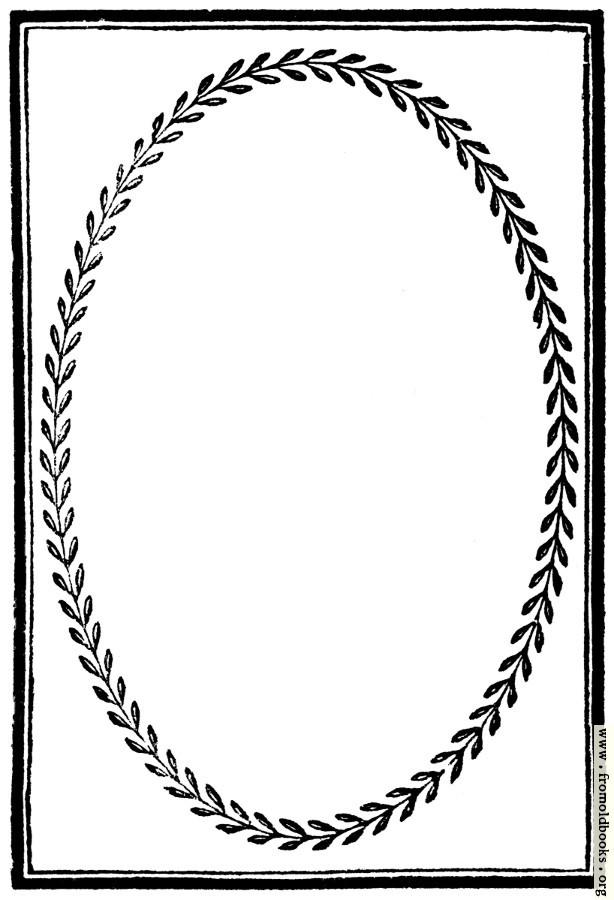 894�fullpage border with laurelleaf frame