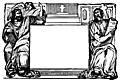 1048.—Border with Evangelists