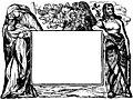 1054.—Border with Mary, Jesus and Joseph