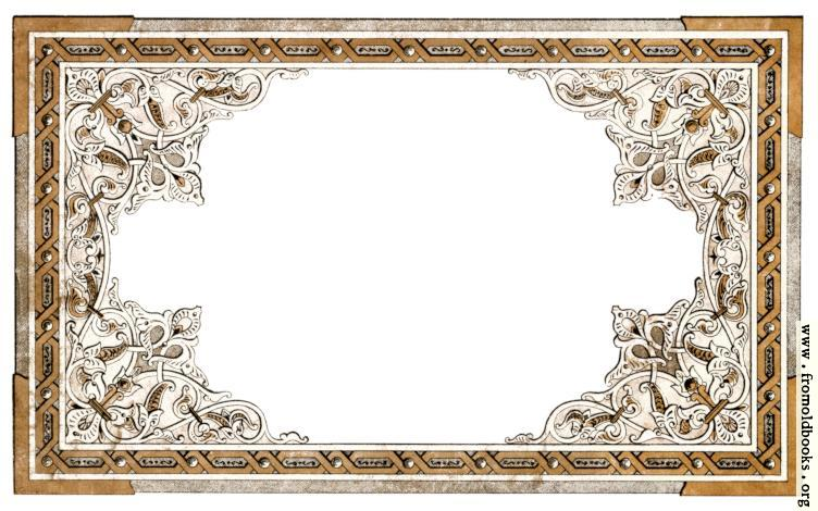 [Picture: Vintage shabby-chic ornate full-page border]