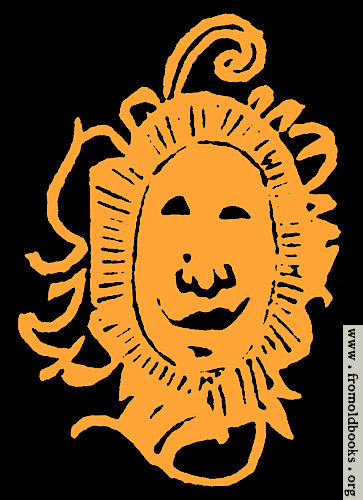 [Picture: Happy bashful fiery sun face drawing]