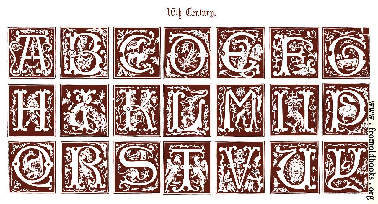 Illuminated Manuscript Letters Alphabet | www.pixshark.com