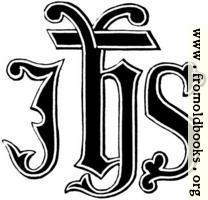 [Picture: 53.2.—IHS Monogram]