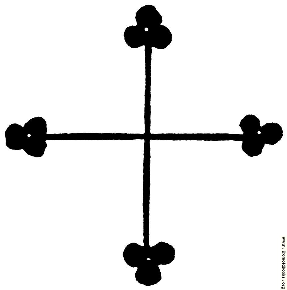[Picture: 53.9.—Gothic Cross]