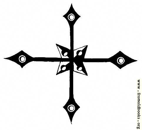 [Picture: 53.11.—Four Quarters Cross]