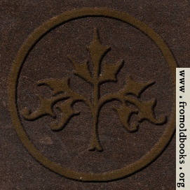 [Picture: 53.19.—Decorative stylised tree (embossed leather version)]