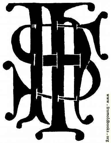 [Picture: 53.29.—IHS Monogram]