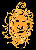[picture: Happy bashful fiery sun face drawing]