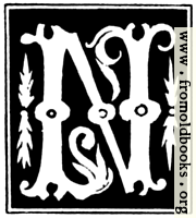 [picture: Decorative initial letter ``N'' from 16th Century]
